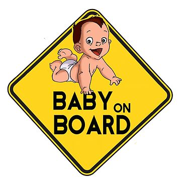 BABY ON BOARD by VERNACI