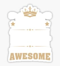 June 1944 75 Years Of Being Awesome Sticker