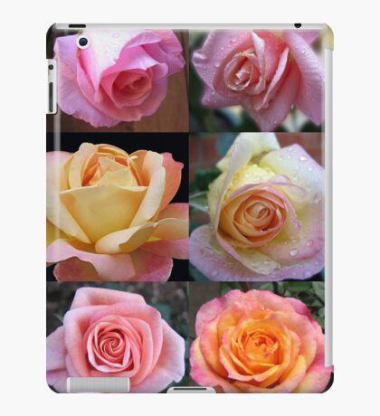 Rosen-Schönheits-Collage iPad-Hülle & Klebefolie