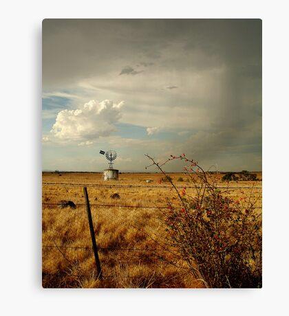 Passing Rain, Geelong District Canvas Print