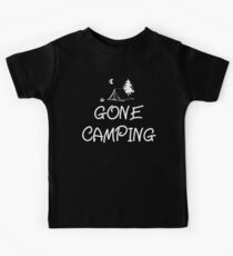 Gone Camping T Shirt Kids Tee