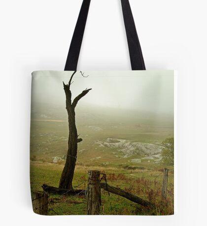 Macendon Ranges,A Damp Foggy Morning Tote Bag