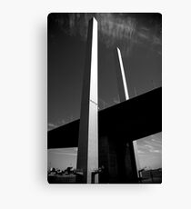 Bolte Bridge reaching for the Sky Canvas Print