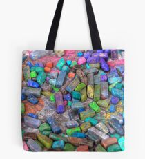 Pastel Chalks- sea tones Tote Bag