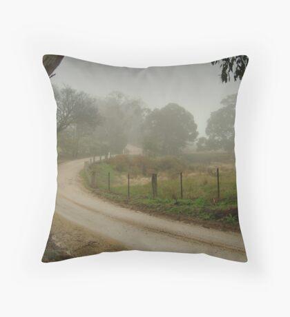 Prendegast Lane,Cobaw,Macedon Ranges Throw Pillow