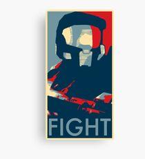 FIGHT - Halo Campaign Canvas Print