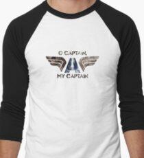 O' Captain Men's Baseball ¾ T-Shirt