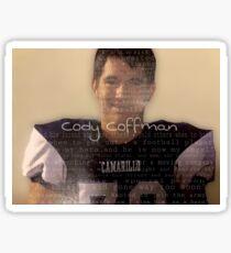 Borderline Strong - Cody Coffman  Sticker