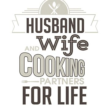 Marriage Husband and Wife Cooking Partners for Life by KanigMarketplac
