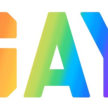 Gay by Mkirkdesign
