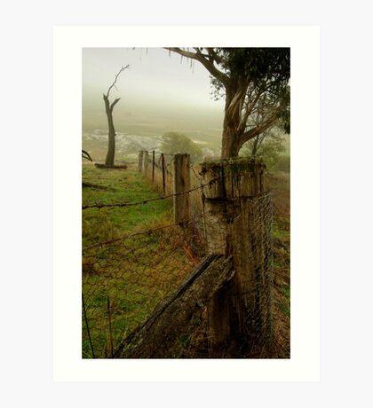 Mist and Dew Art Print