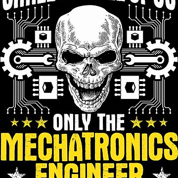Mechatronics Engineer Gift Present Smiles by Krautshirts