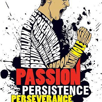 PASSION PERSISTENCE PERSEVERANCE by sakshamputtu