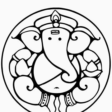 Ganesha 3 by buddhabubba