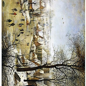 Winter Landscape with Skaters and Bird Trap Pieter Bruegel by buythebook86