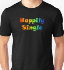 Happily Single Unisex T-Shirt