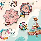 Summer Holiday by Karin Taylor