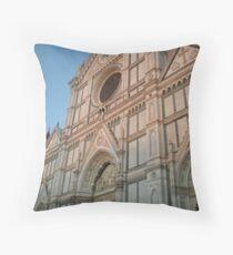 Florentine History Throw Pillow