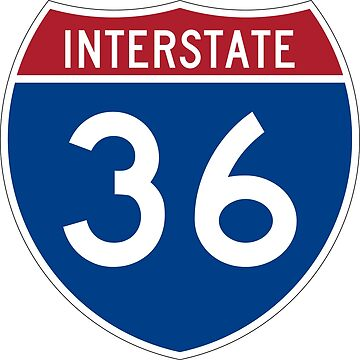 Interstate Number 36 | Interstate Highway Thirty six by igorsin