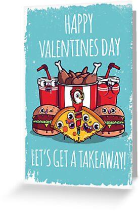 Let's get a takeaway Valentines by Scott Weston