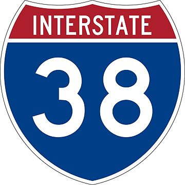 Interstate Number 38 | Interstate Highway Thirty eight by igorsin