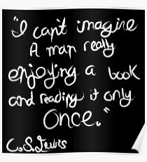 C. S. Lewis on Books Poster