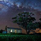 Eudunda ruin and Stars by pablosvista2