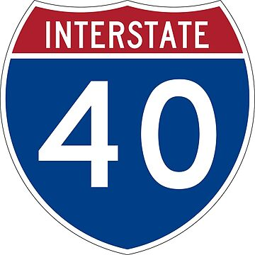 Interstate Number 40 | Interstate Highway Forty by igorsin