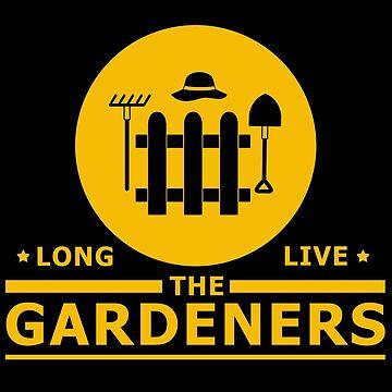 Gardener gardening garden plants botany landscaper gift by design2try