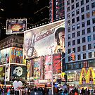 Time Square... New York City by ZeeZeeshots