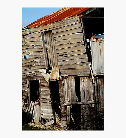 Barn, Geelong Photographic Print