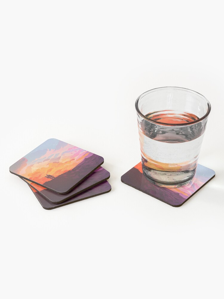 Alternate view of Star Down Coasters (Set of 4)
