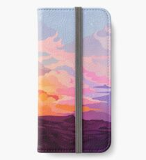 Stern runter iPhone Flip-Case/Hülle/Skin