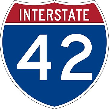Interstate Number 42 | Interstate Highway Forty two by igorsin