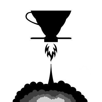 Hario V60 rocket coffee maker design by GetItGiftIt