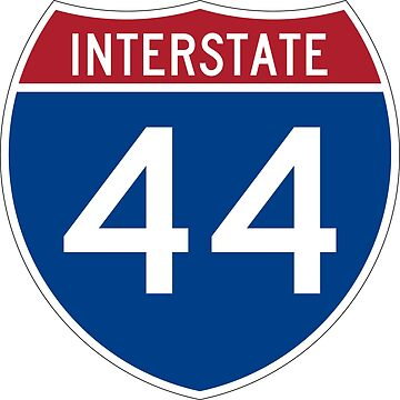 Interstate Number 44 | Interstate Highway Forty four by igorsin