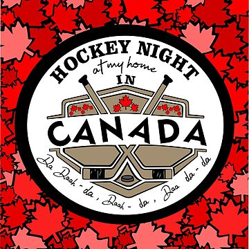 Hockey Night - at my house In Canada by GR8DZINE
