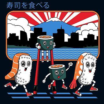 Tokyo Sushi Run by vincenttrinidad