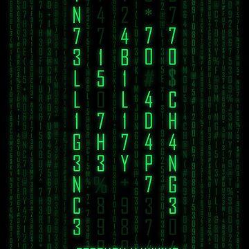 Adapt or Die Matrix by stoopiditees