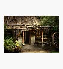 Kate's Cottage Photographic Print