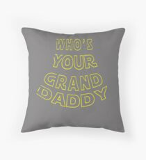 Funny Whos your grand daddy gift for grandpa Floor Pillow