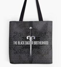 The Black Dagger Brotherhood  [white text] Tote Bag