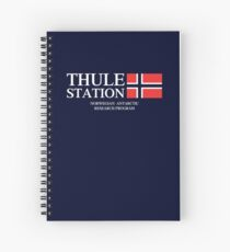 Thule Station Spiral Notebook