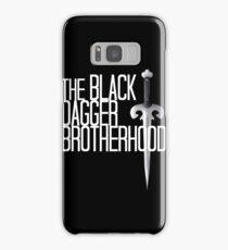The BLACK DAGGER BROTHERHOOD   [white text] Samsung Galaxy Case/Skin