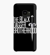 The BLACK DAGGER BROTHERHOOD   [white text] Case/Skin for Samsung Galaxy