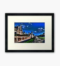 Chateau d'Anet Vibrant #1 Framed Print