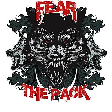 Fear of the pack by schnibschnab