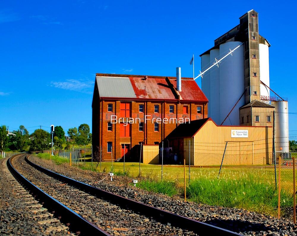 Gunnedah Maize Mill - NSW - Australia by Bryan Freeman