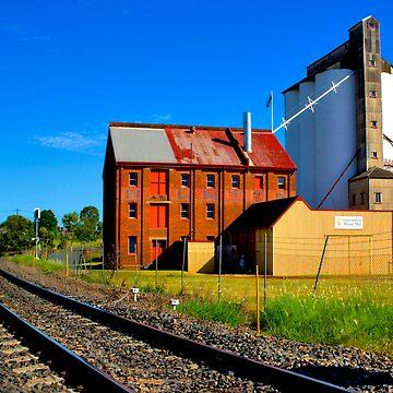 Gunnedah Maize Mill - NSW - Australia by BryanFreeman