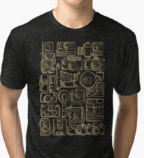 Paparazzi Beige Tri-blend T-Shirt